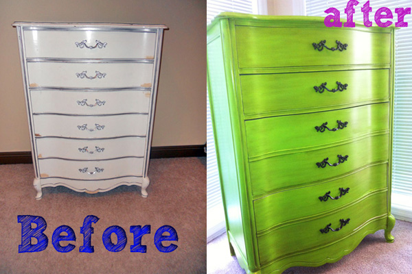 Perfect So, What Do You Think Of The Lean, Mean, And GREEN Dresser! DresserFurnitureFurniture  Transformation ...