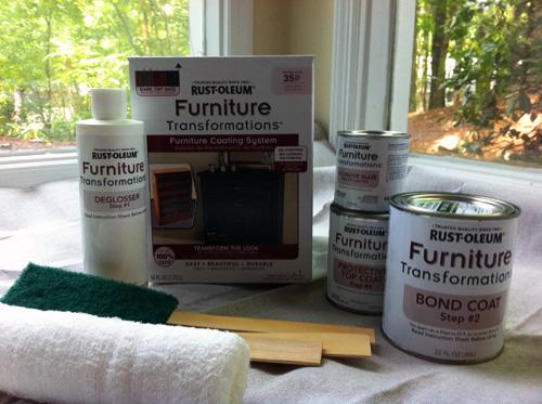 rustoleum furniture transformation let s get crafty