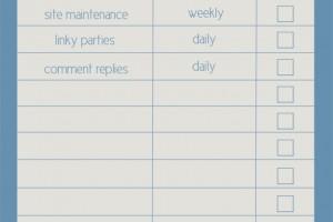blog checklist example