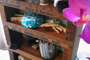 ruler shelf