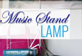 music stand lamp