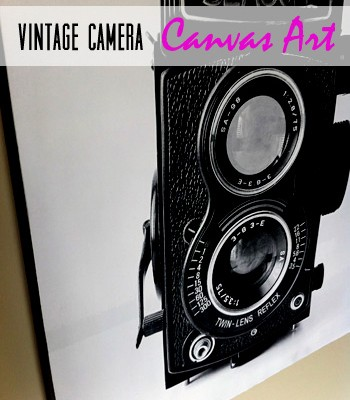 image relating to Camera Printable referred to as Traditional Digicam Canvas Artwork Cost-free Printable - Makes it possible for Order Cunning!
