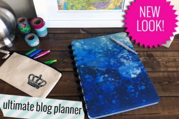 new cover for ultimate blog planner2.1