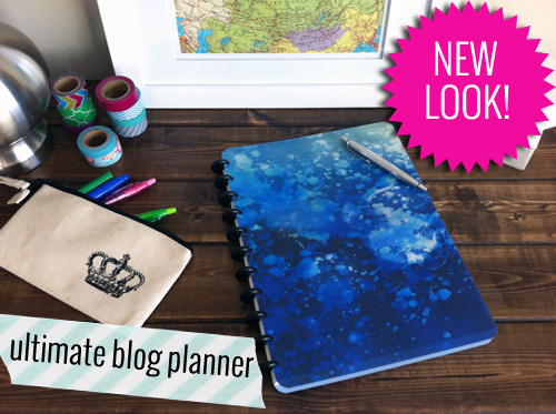 new cover for ultimate blog planner 2.0