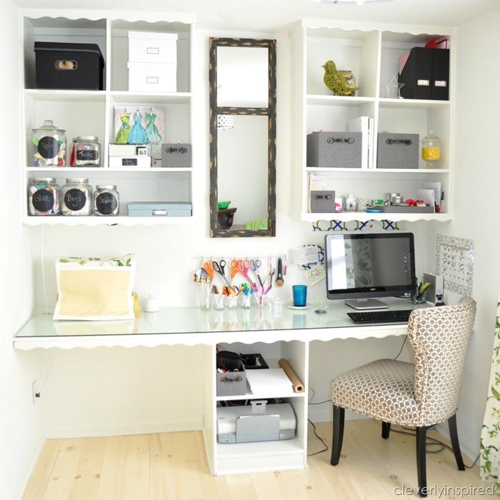 Craft Desk Storage Lets Get Crafty