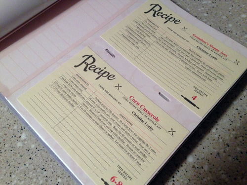 Recipe Cards And Book Recipe Cards That i Found