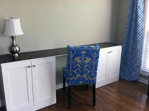 Craft Room Desk: Let's Get Crafty