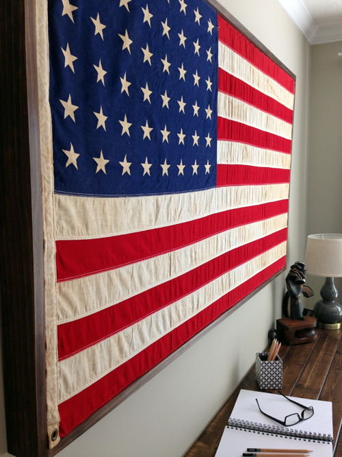 Restoration Hardware American Flag Hack2