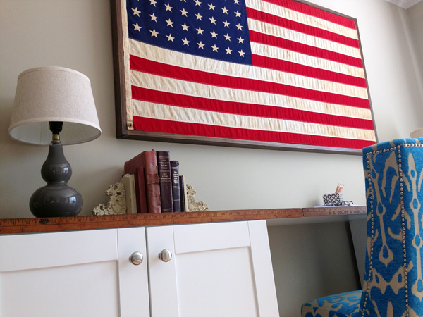 Restoration Hardware American Flag Hack3