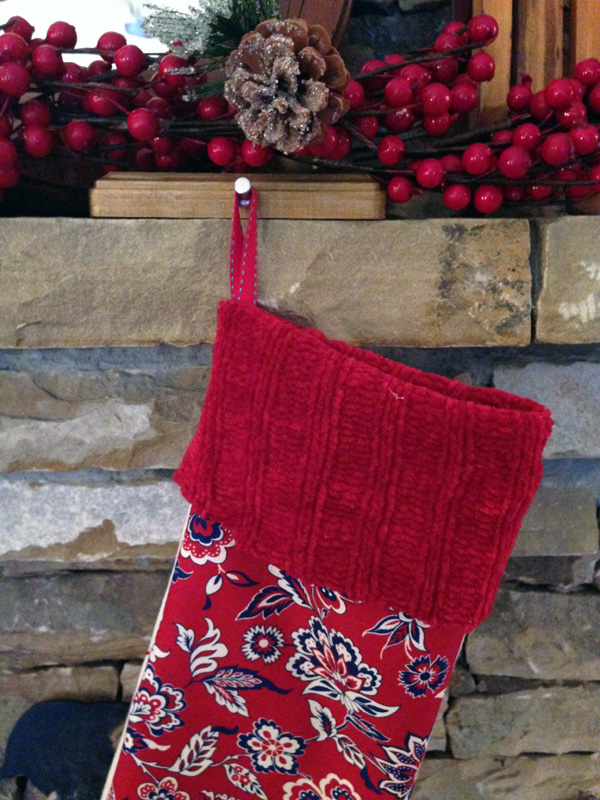 DIY Christmas Stocking11