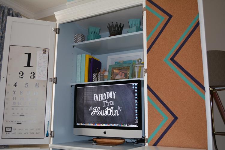 computer cabinet interior