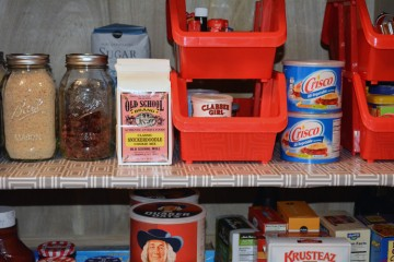 kitchen pantry organized 2