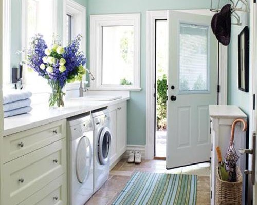 pretty-contemporary-laundry-room-design
