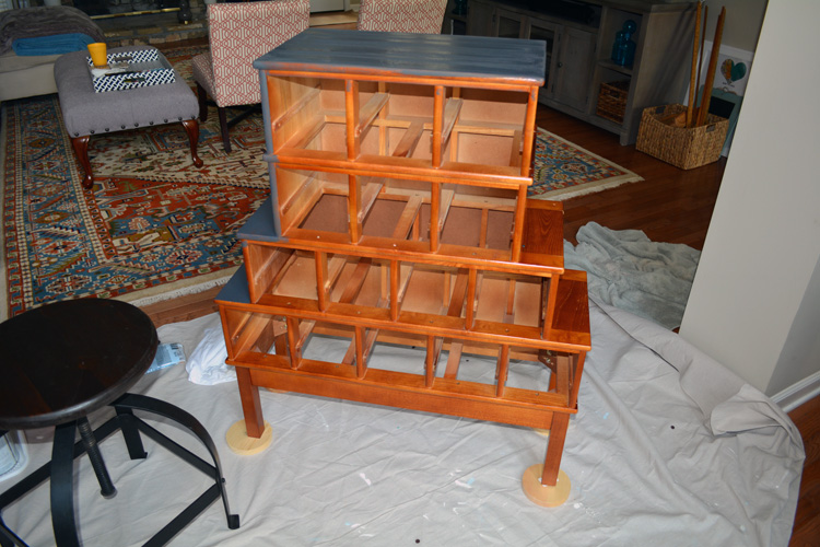 apothecary cabinet with chalk paint2