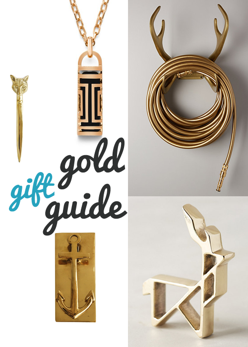 Gold Gift Guide