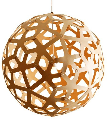 geometric design pendant light