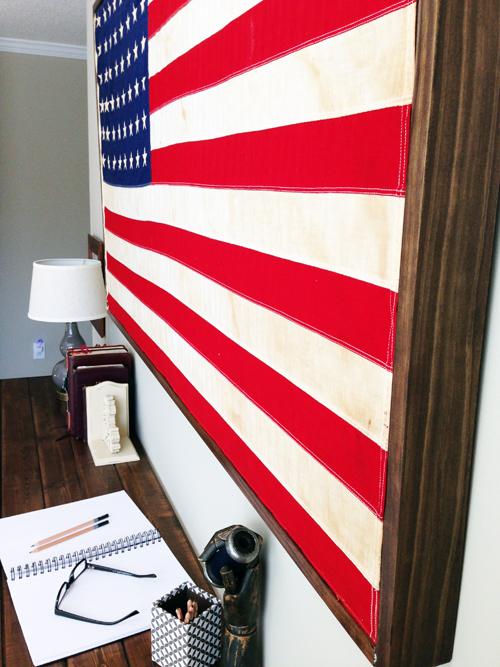 Restoration Hardware American Flag Hack