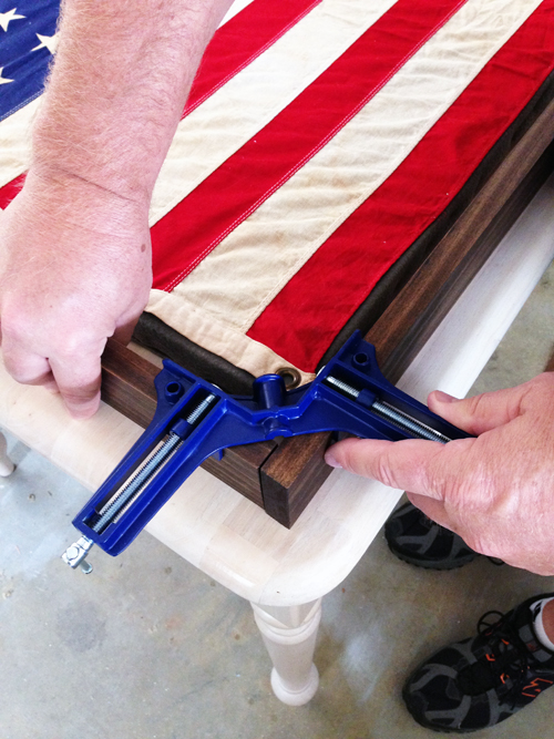 Restoration Hardware Flag Hack