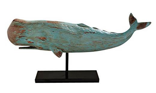 Farm House Decor - Whale Sculpture