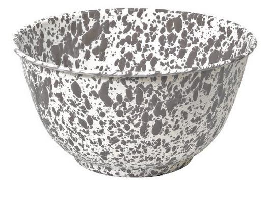 Farmhouse Decor - Enamelware bowl