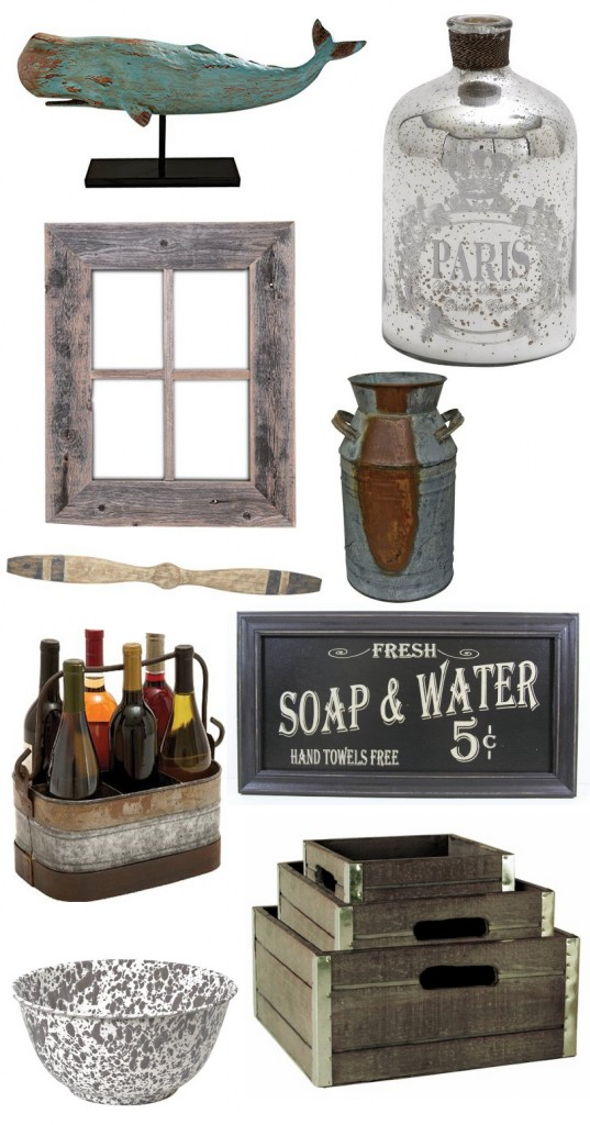Vintage Farm House Decor Mood Board
