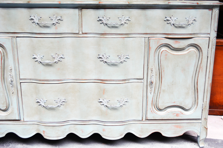 china cabinet chalk paint