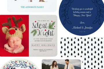 Personalized Christmas Cards - My Mood Board Monday